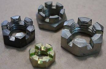 Гайка М6 прорезная и корончатая ГОСТ 5919-73, (аналог DIN 937), фото 2