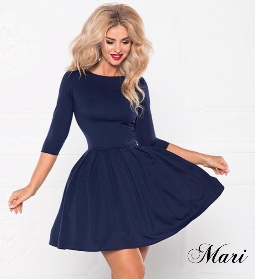 043c8d2a70878eb Женское короткое платье с пышной юбкой Подьюбник в комплекте Размер 42 44  Разные цвета - Семейный