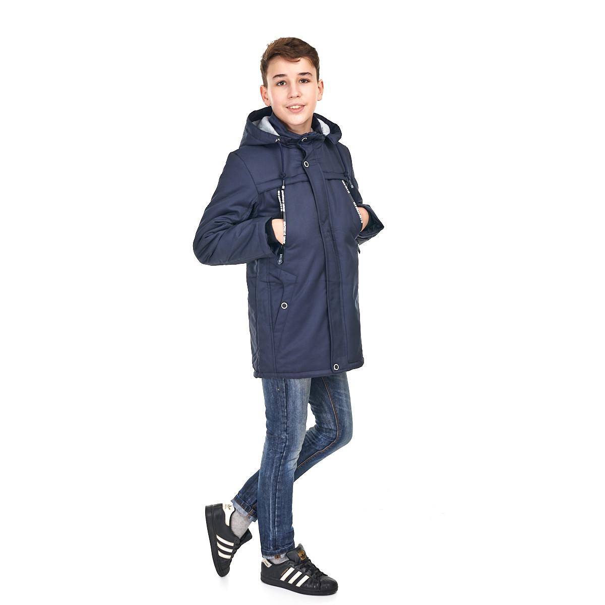 Весення куртка на мальчика 140 - 164, куркта с наушниками
