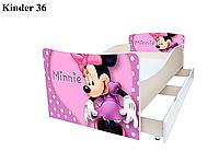 Кровать детская Kinder Минни