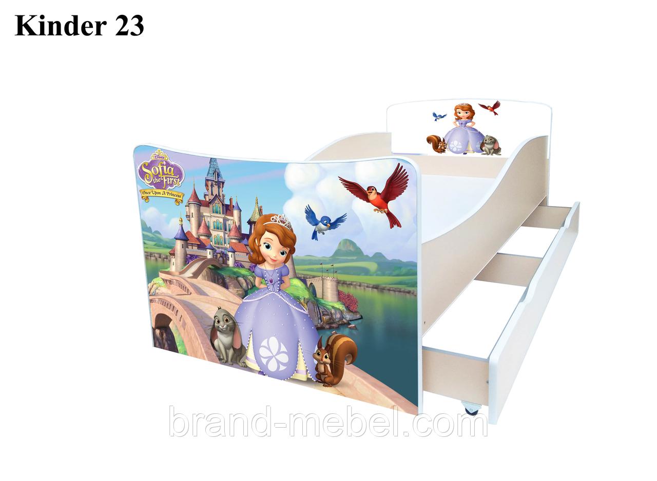 Кровать детская Kinder София