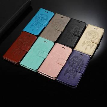 NOKIA 8.1 (X7) чехол книжка оригинальный кожаный противоударный визитница с карманами кошелёк нат. КОЖА TRESTA