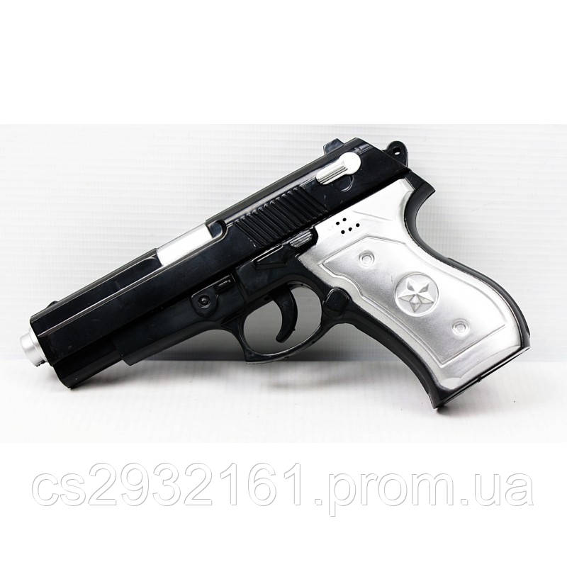 Пистолет музыкальный в пакете