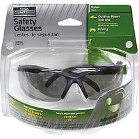 Защитные очки Safety Works  с регулируемым углом рассеивания линзы дымчатого цвета