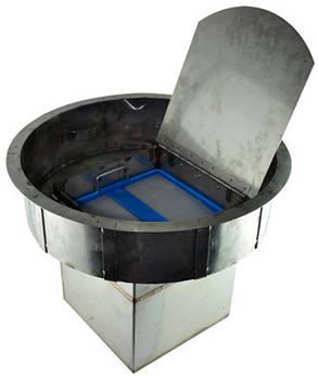 Воздушный фильтр для очистки воздуха от канализационных газов Wager USA №3000 (промышленно-бытовой) под крышку, фото 2