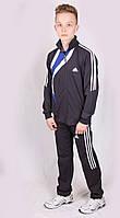 Костюм спортивный мужской Adidas 1318 Dark gray Размеры M