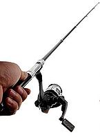 Карманная удочка-ручка Pocket pen fishing rod+ катушка