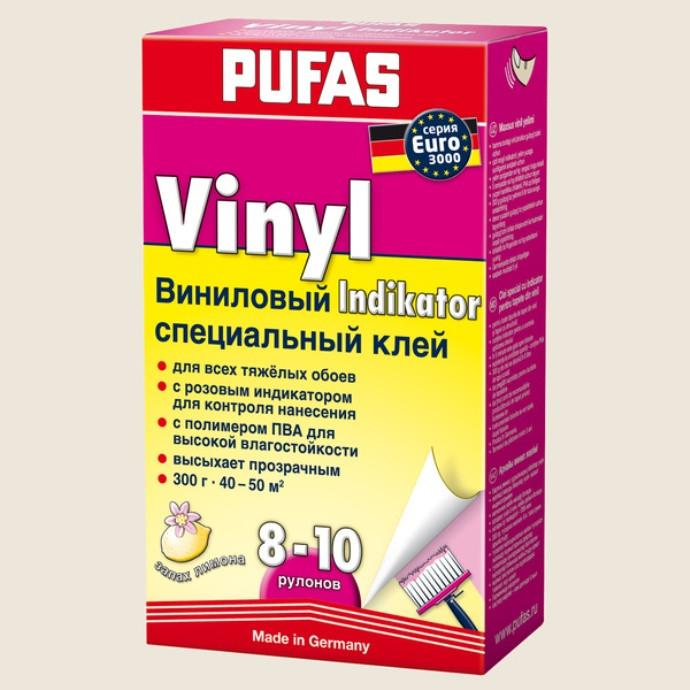 Клей обойный PUFAS EURO 3000 виниловый с индикатором - Ya-Lot в Киеве