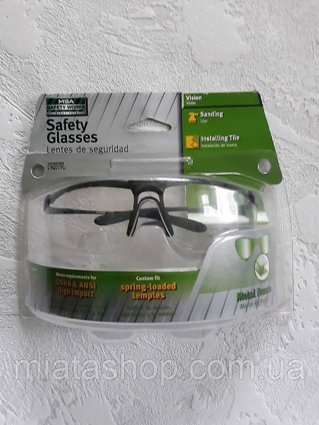 Захисні окуляри Safety Works металевий каркас