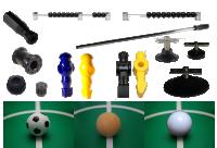 Комплектуючі для настільного футболу