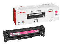 Заправка картриджа Canon 718 magenta для принтера LВP-7200CDN, LBP7210Сdn, LBP7660Сdn, LBР7680Cx, МF8330Cdn