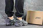 Мужские кроссовки Asics (Серые) , фото 3