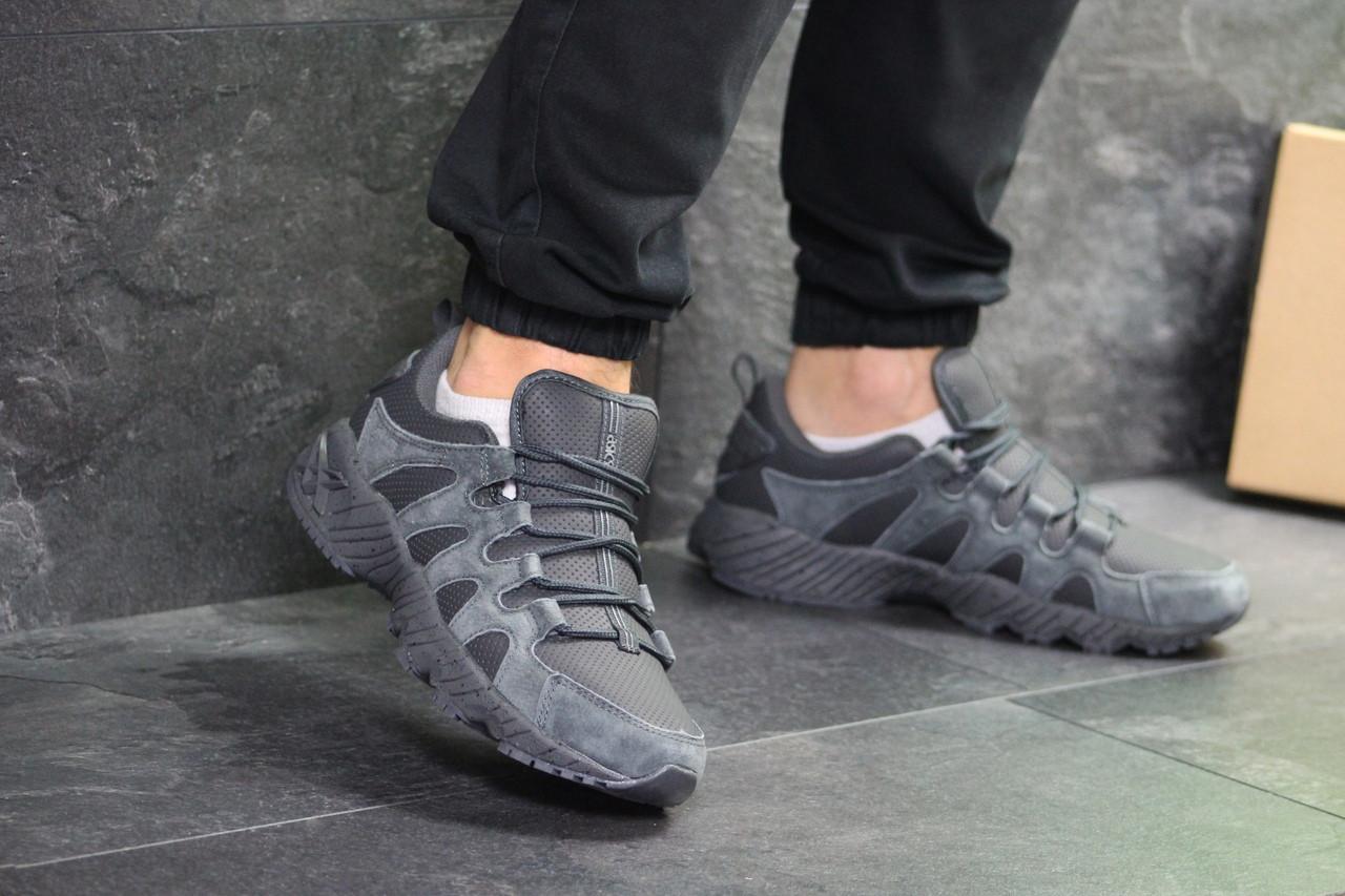 Мужские кроссовки Asics (Серые)