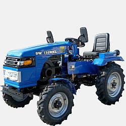 Минитрактор DW 150RXL с блокировкой дифференциала, гидравликой, мощностью 15 л.с.