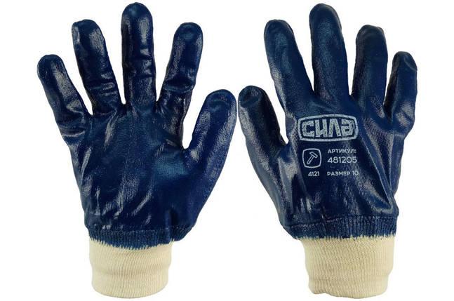 """Перчатки Сила - масло-бензостойкие с мягким манжетом 10"""", фото 2"""