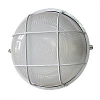 Светильник уличный 100W круг с решеткой, Lumen (Люмен)