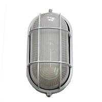 Светильник уличный 100W овал с решеткой, Lumen (Люмен)