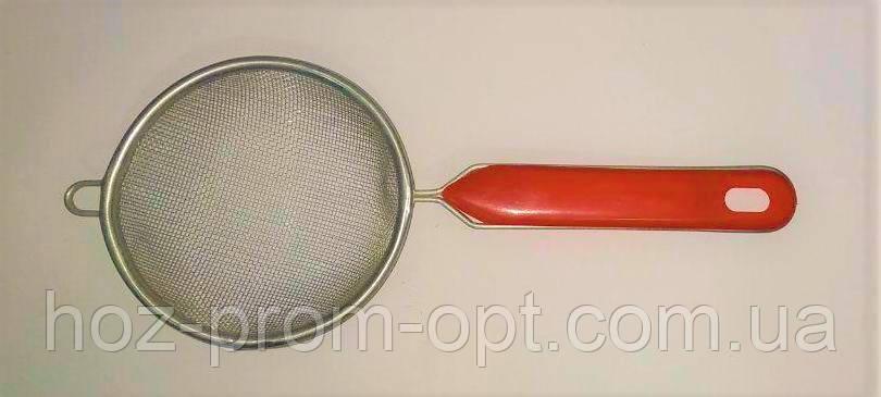 Сито с красной ручкой 12 см
