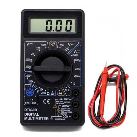 Мультиметр цифровий універсальний Digital DT-830B, фото 2