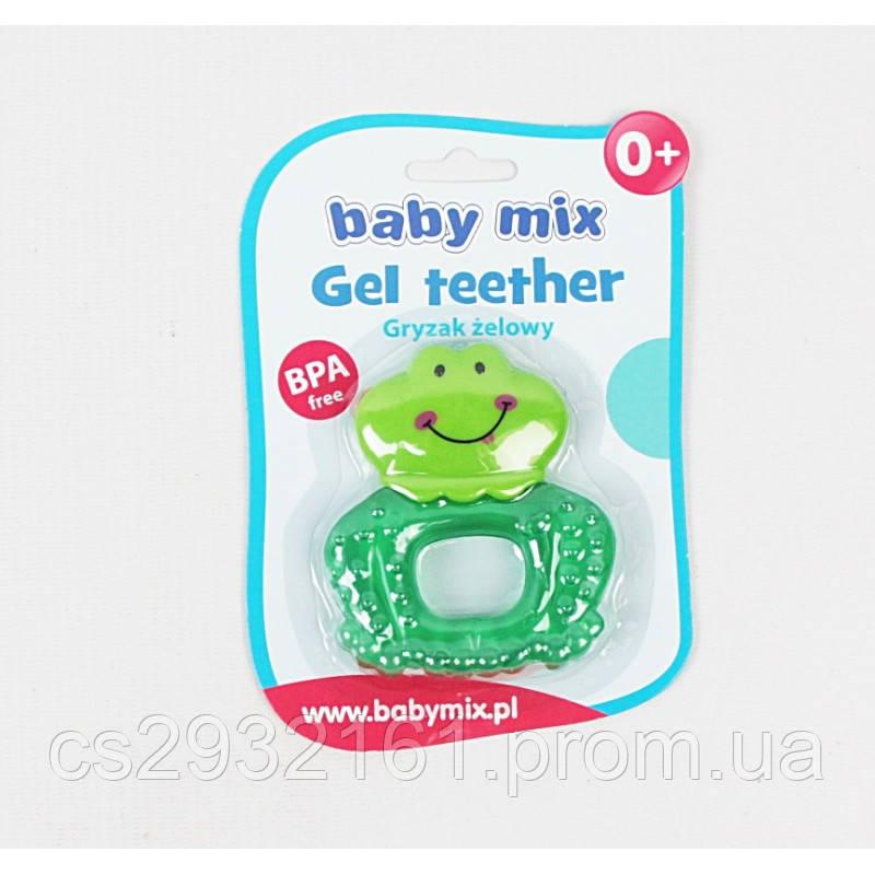 """BABY MIX Прорезыватель для зубов """"Жабка"""""""
