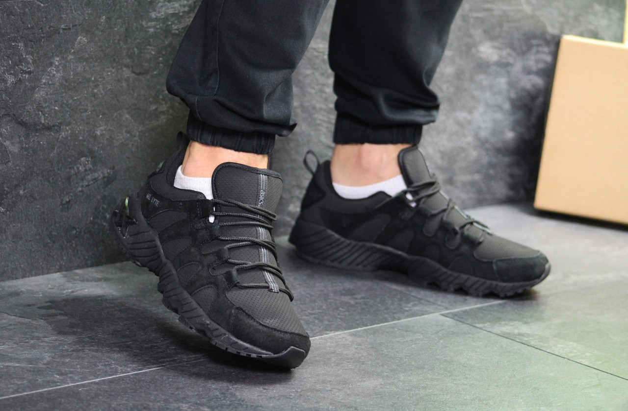 Мужские кроссовки Asics (Черные)