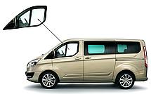 Боковое стекло короткая база Ford Transit Custom 2013-2018 опускное левое