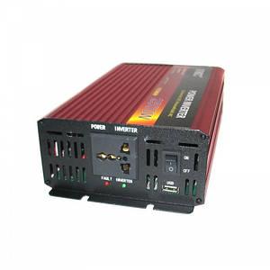 Преобразователь авто инвертор UKC 24В-220В AR 2500Вт, c функции плавного пуска