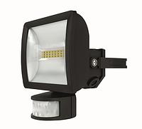 Светодиодный прожектор 10 Вт с датчиком движения theLeda E10 BK th 1020912