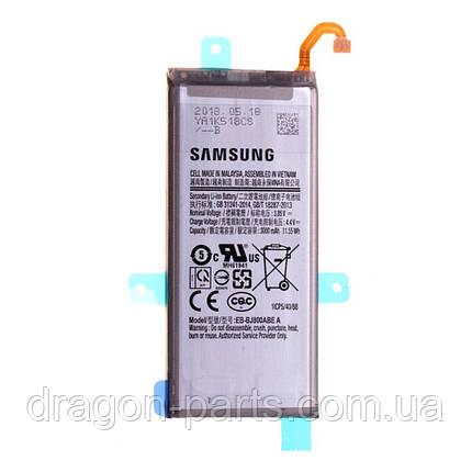 Аккумуляторая батарея Samsung J600 Galaxy J6 2018, GH82-16865A, фото 2