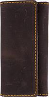 Мужская кожаная ключница BLACK BRIER (БЛЭК БРАЕР) КЛ-3-33 коричневый