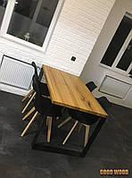 Стол Loft L-10 , 1600*900, ясень или дуб, мебель лофт