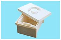 Емкость-контейнер полимерный для дезинфекции и предстерилизационной обработки мед. изделий ЕДПО-5-01 (5литров)