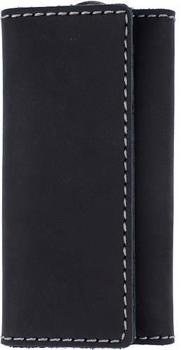 Мужская кожаная ключница BLACK BRIER (БЛЭК БРАЕР) КЛ-3-35 черный