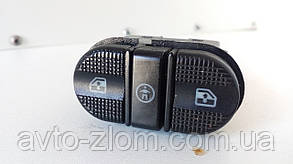 Кнопка задних стеклоподъемников Volkswagen Sharan, Ford Galaxy, Шаран, Галакси. 7M0959855, 95VW14529CAW.