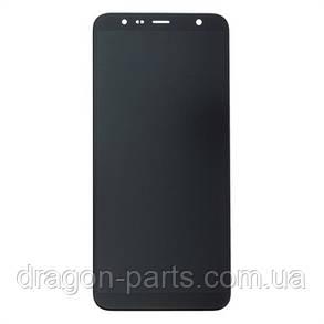 Дисплей Samsung J4+ Galaxy J415 2018 Чёрный Black GH97-22582A, оригинал, фото 2