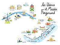 Фабрики та інші Фрагонар у Франції