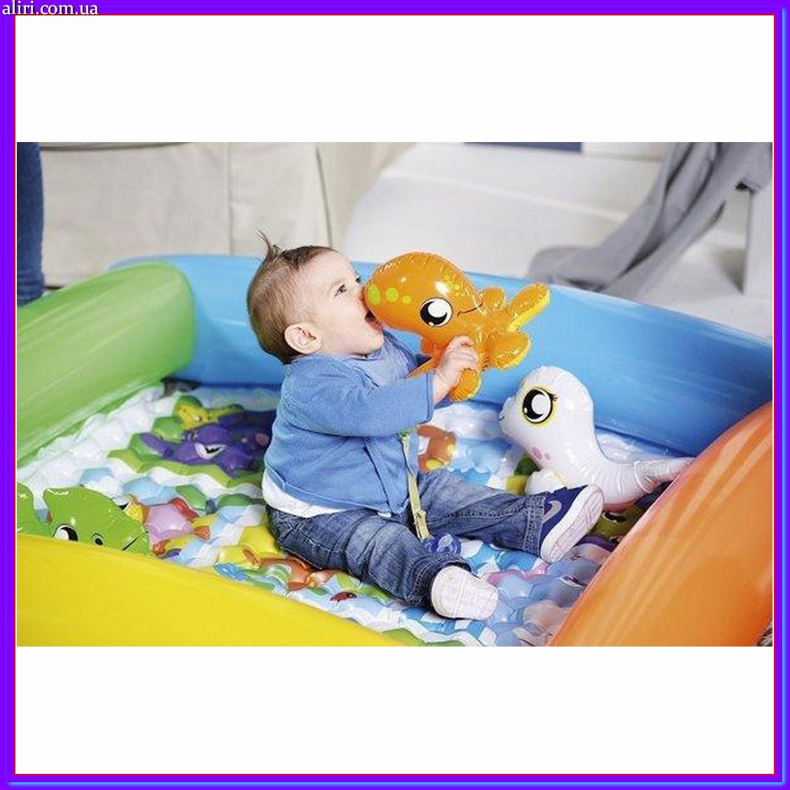 Детский надувной бассейн Bestway 52240 с ремкомплектом