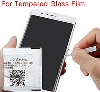 Гель-клей для удаления воздуха вокруг стекла (жидкость ликвид от белых краёв)
