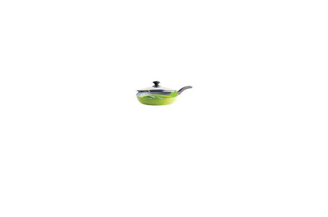 Сковорода антипригарная Maestro - 260 мм с крышкой MR-1208-26, фото 2