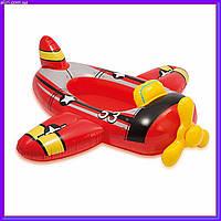 Плотик надувной детский 59380A Самолет