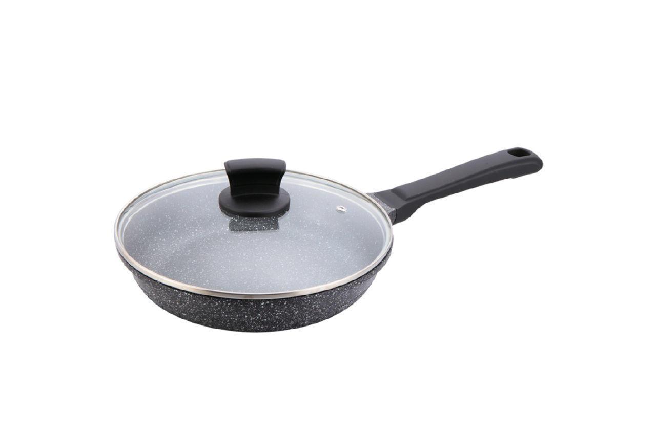 Сковорода антипригарная Maestro - 280 мм с крышкой MR-1225-28