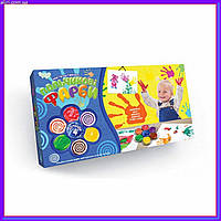"""Пальчиковые краски для малышей """"Моя перша творчість"""" 4 цвета Danko Toys 6785DT"""