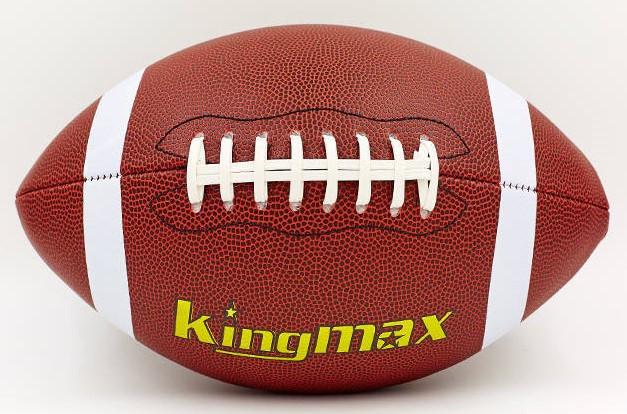 М'яч для американського футболу KINGMAX FB-5496-6 (PU, р-р 6in, коричневий)