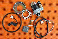 Комплект для переоборудования мотоблока под электростартер. Для дизельного 6 л.с. двигателя 178F., фото 1