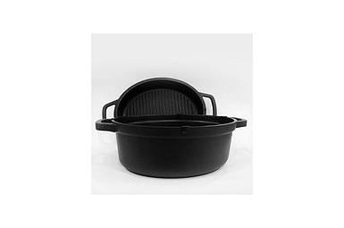 Кастрюля антипригарная Maestro - 260 мм x 4,5 л с крышкой-сковородкой