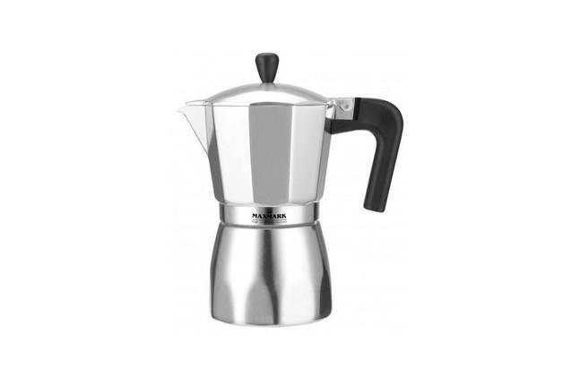 Кофеварка гейзерная Maxmark - 450 мл MK-AL109, фото 2