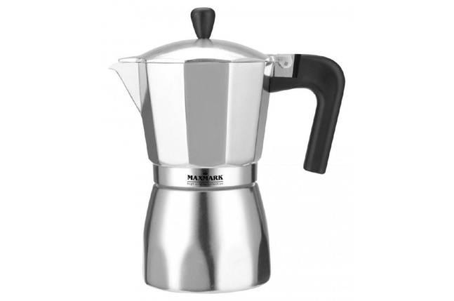 Кофеварка гейзерная Maxmark - 150 мл, фото 2