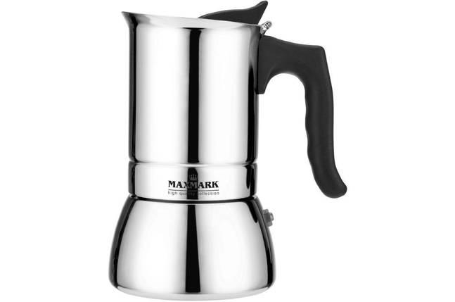 Кофеварка гейзерная Maxmark - 240 мл MK-S104, фото 2