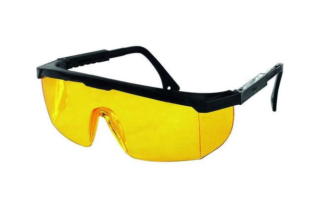 Очки защитные Mastertool - регулируемая дужка (прозрачные), фото 2
