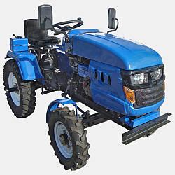 Міні-трактор DW 160LXL з блокуванням диференціала, гідравлікою, потужністю 16 л. с.